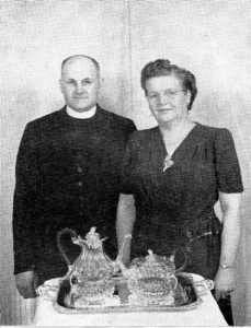 Rev and Mrs Kalbfleisch