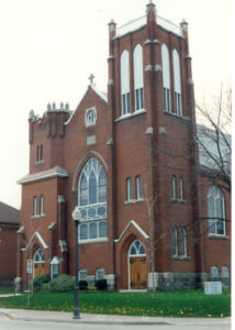 photo of St. James in the Spring