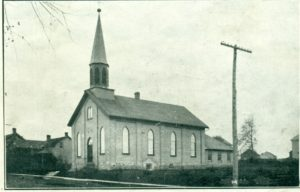 first brick church