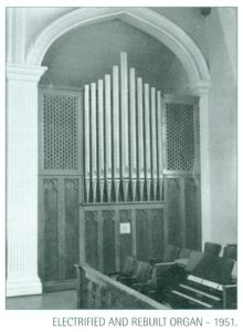 1950 Organ pipes